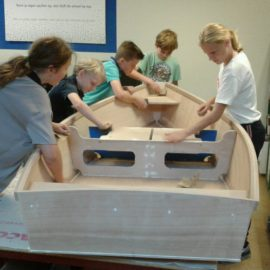 Scholen bouwen voor Volvo Ocean Race